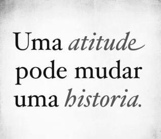 Uma atitude